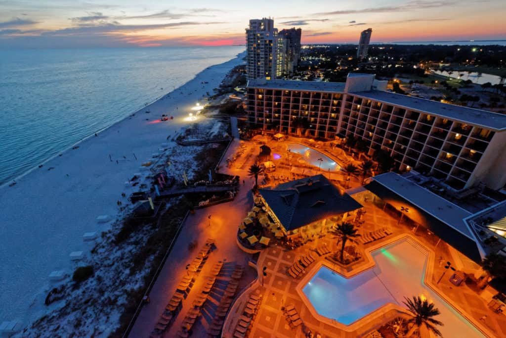Nighttime at the Hilton Sandestin