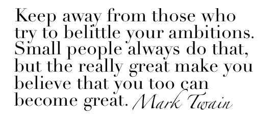 Mark Twain - Small People