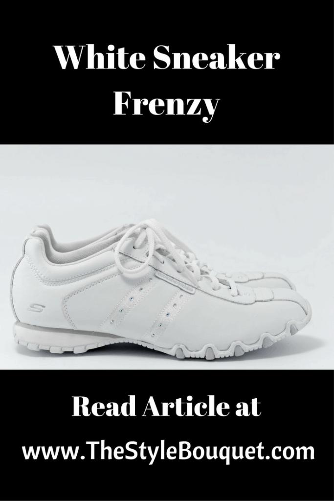 White Sneakers - Pinterest