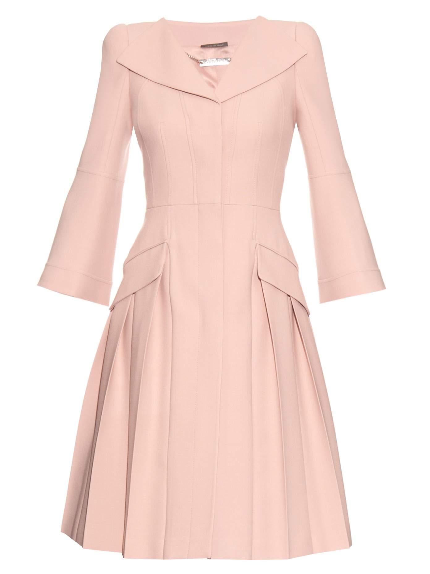 Alexander McQueen Pink Coat