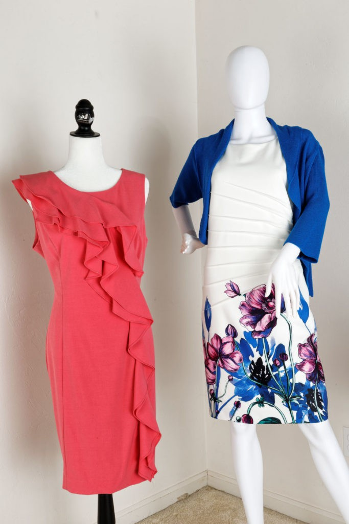 Ivanka Trump Dress & Calvin Klein Dress