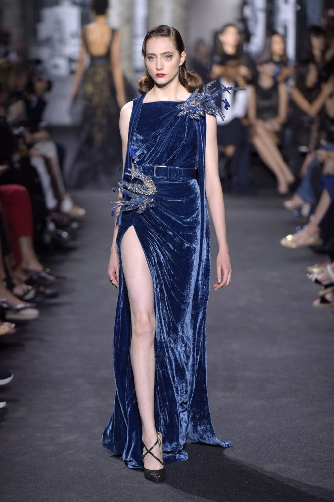 Elie Saab Fall/Winter 2016 Couture Show: Velvet