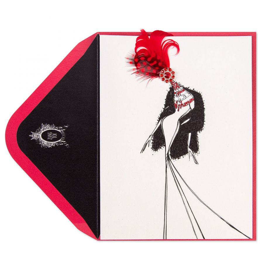 Zang Toi Greeting Card