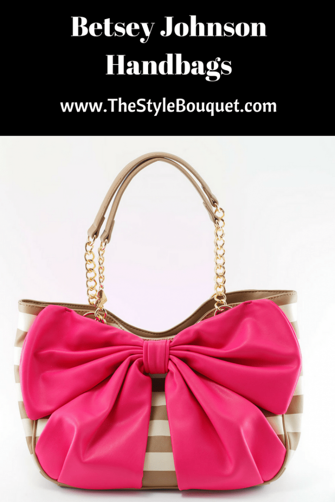 Betsey Johnson Handbags = Pinterest
