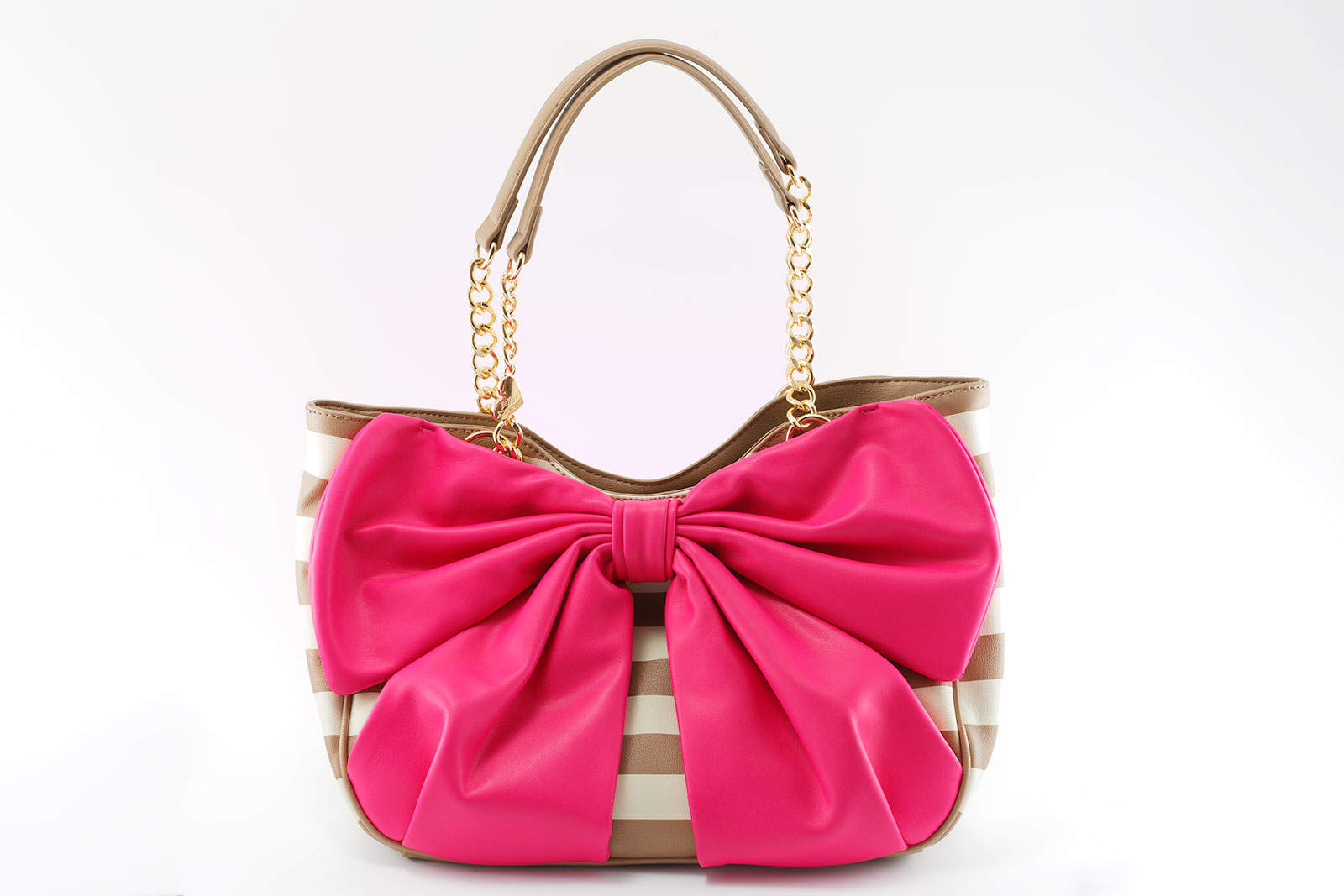 Betsey Johnson Handbag Pink Bow