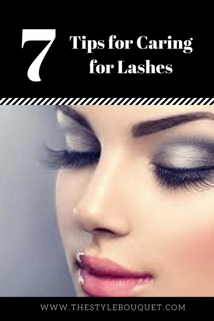 7 Tips Caring for Lashes - Pinterest