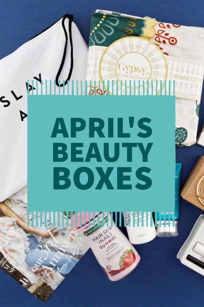 April Beauty Boxes