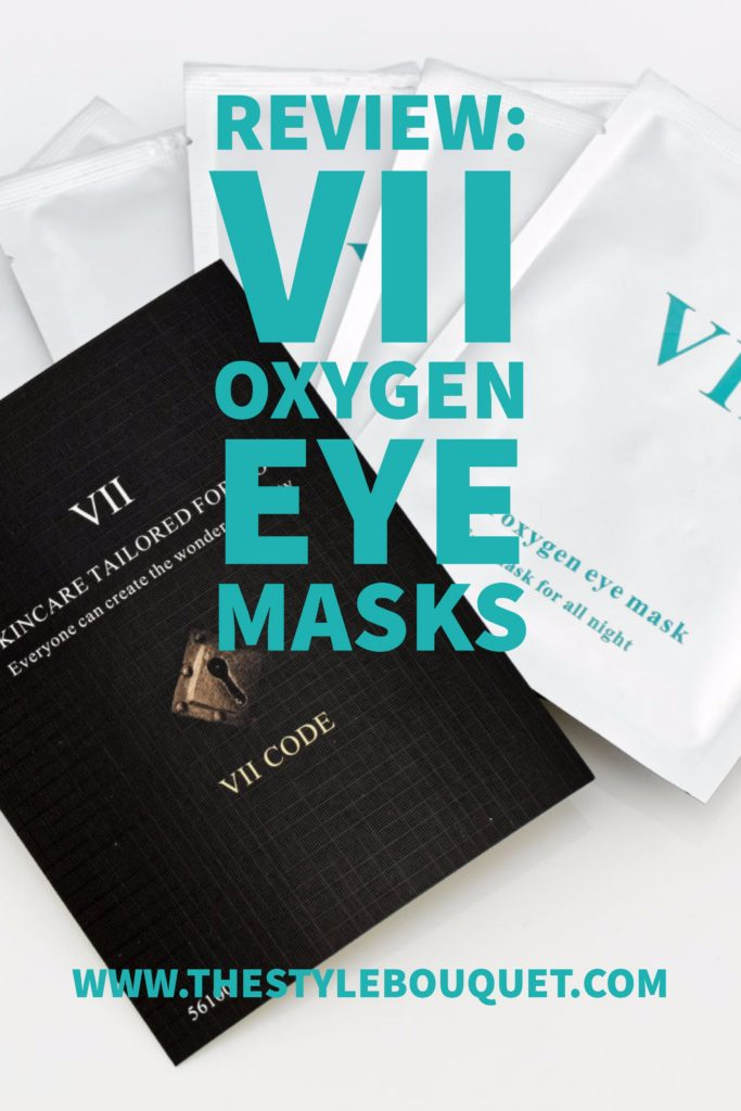 VII Oxygen Eye Masks