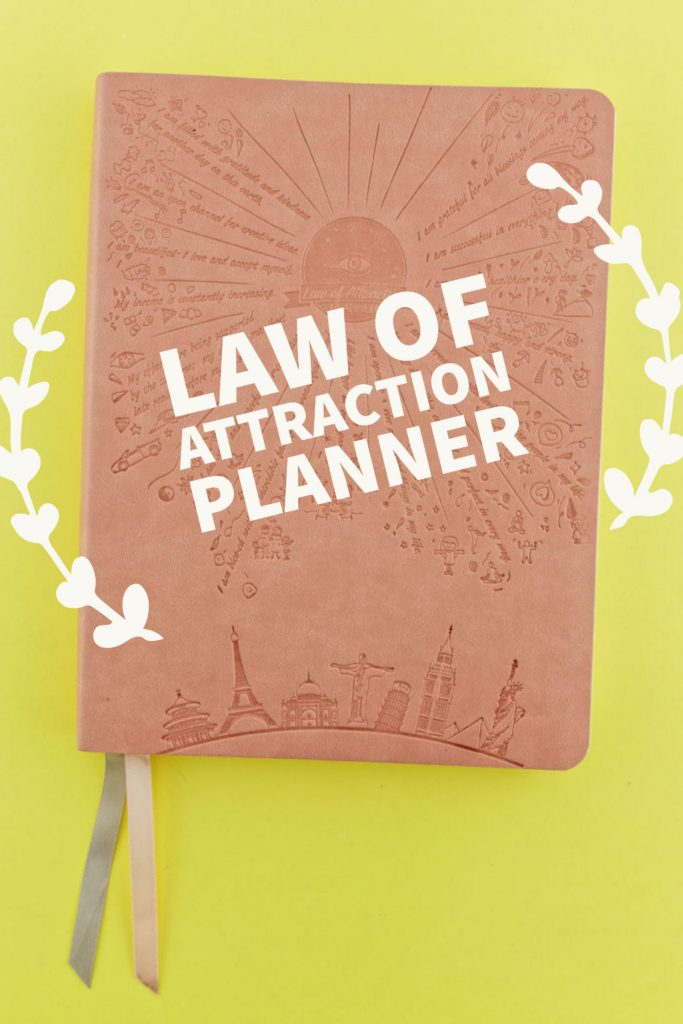Law of Attraction Planner for Pinterest