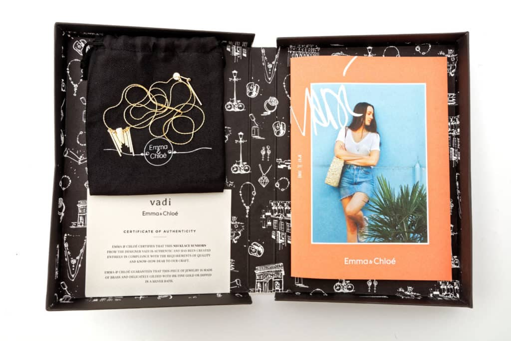 Emma & Chloe June Jewelry Subscription Box