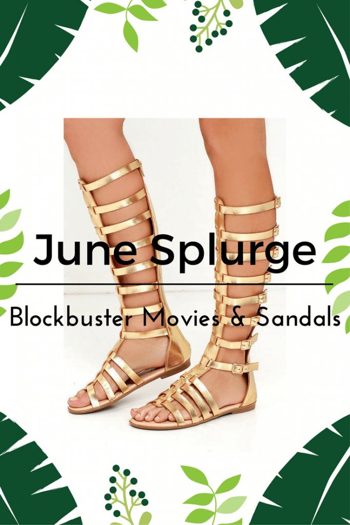 June Splurge