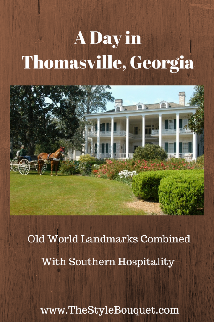 A Day in Thomasville, Georgia -P
