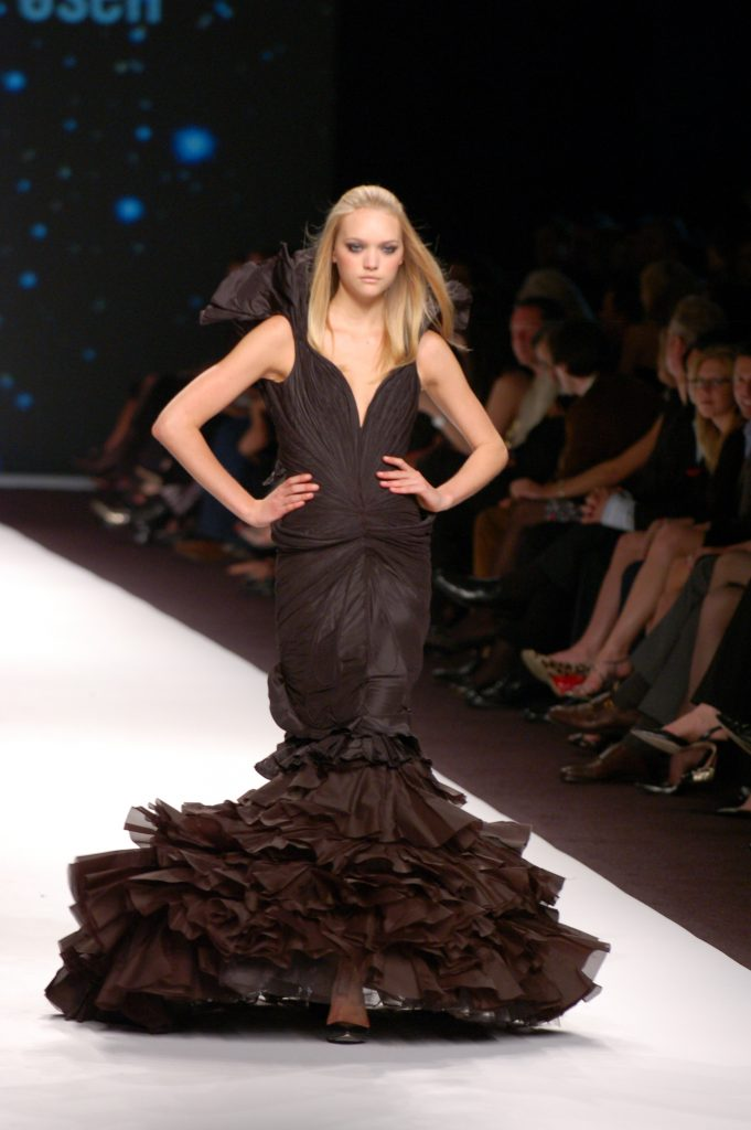 Haute Couture Black Dress