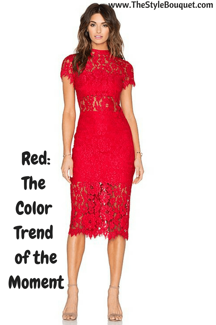 Red: The Color Trend of Resort 2018 & Fall/Winter 2017-18 ...