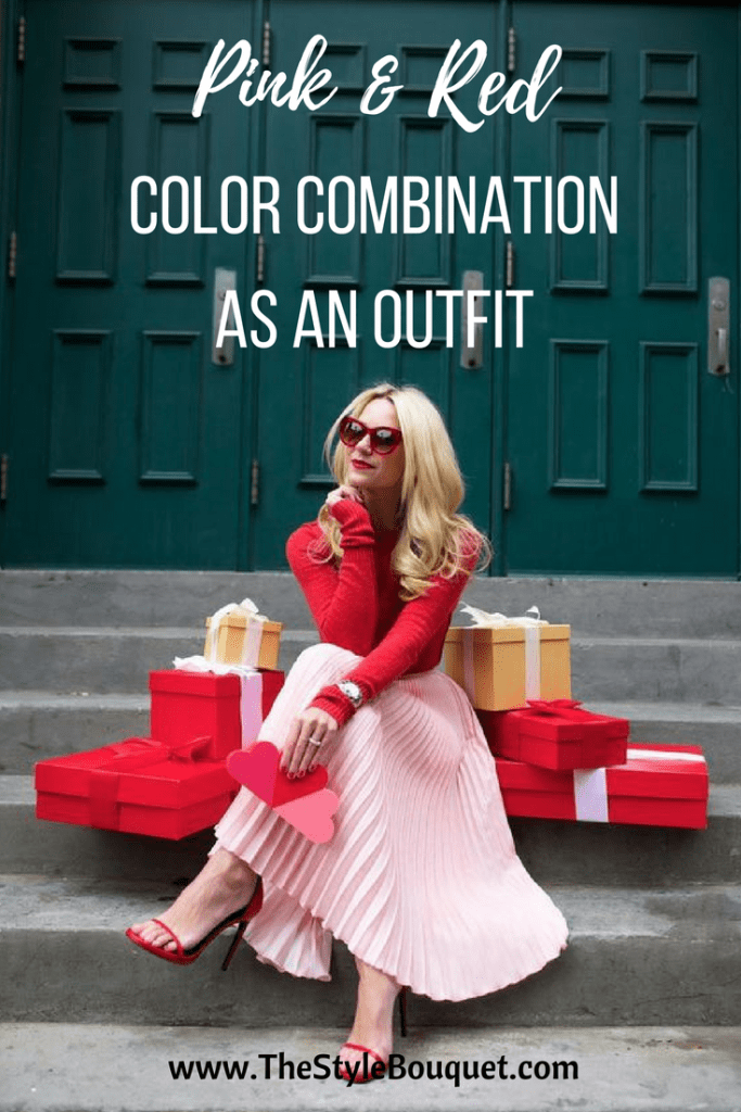 Pink & Red Outfit - Pinterest