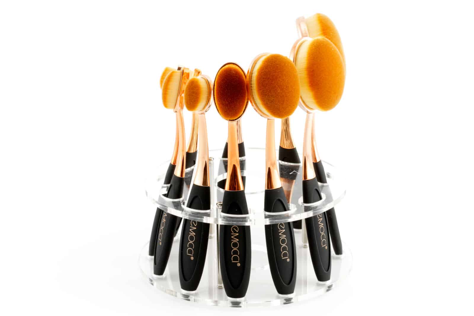 Rose Gold Spoon Brush Carousel