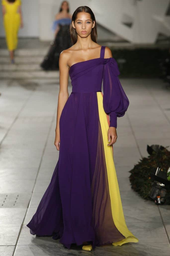 Carolina Herrera Ultra Violet Dress