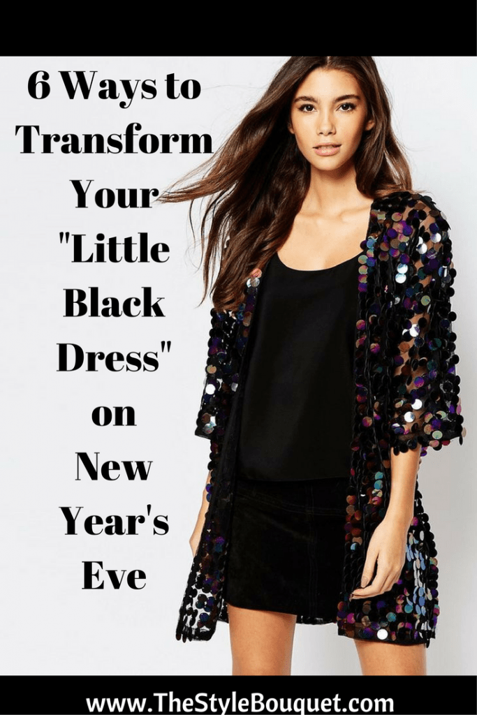 LBD on NYE - Pinterest