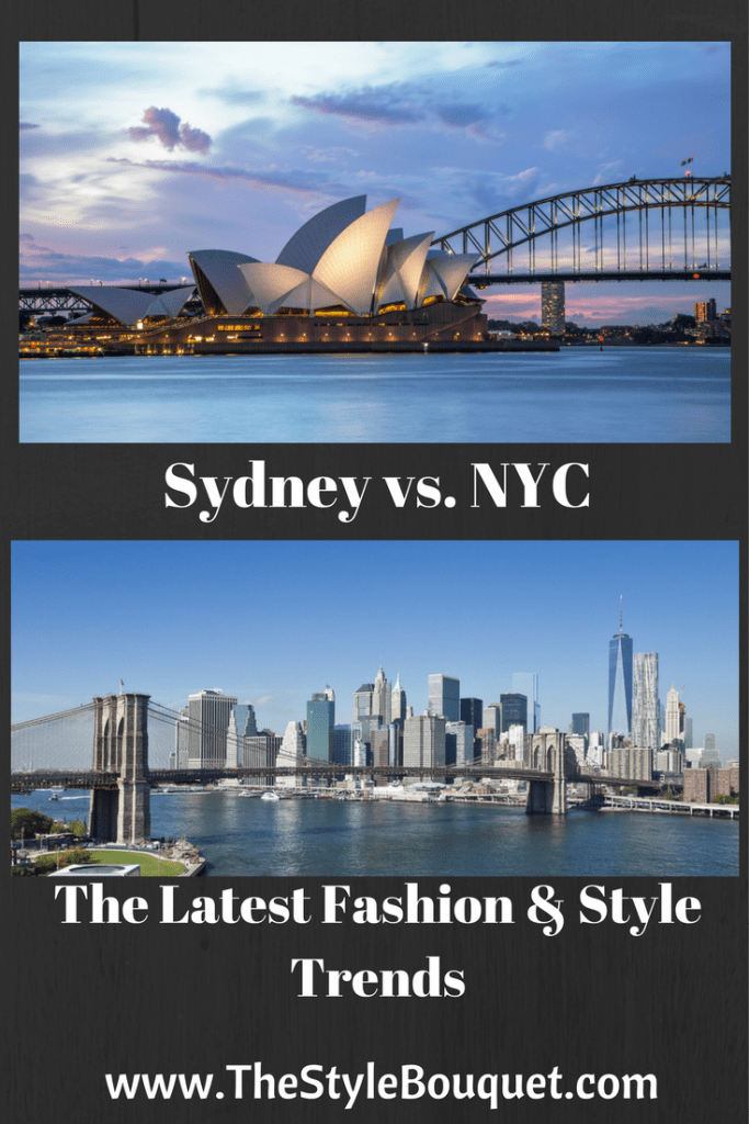 Sydney vs. NYC - Pinterest