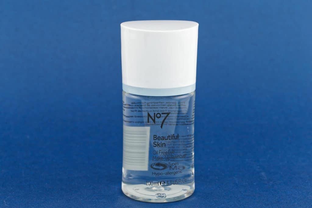 No. 7 Oil-Free Eye Makeup Remover