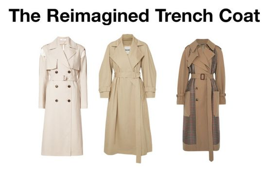 The Reimagined Trench Coat