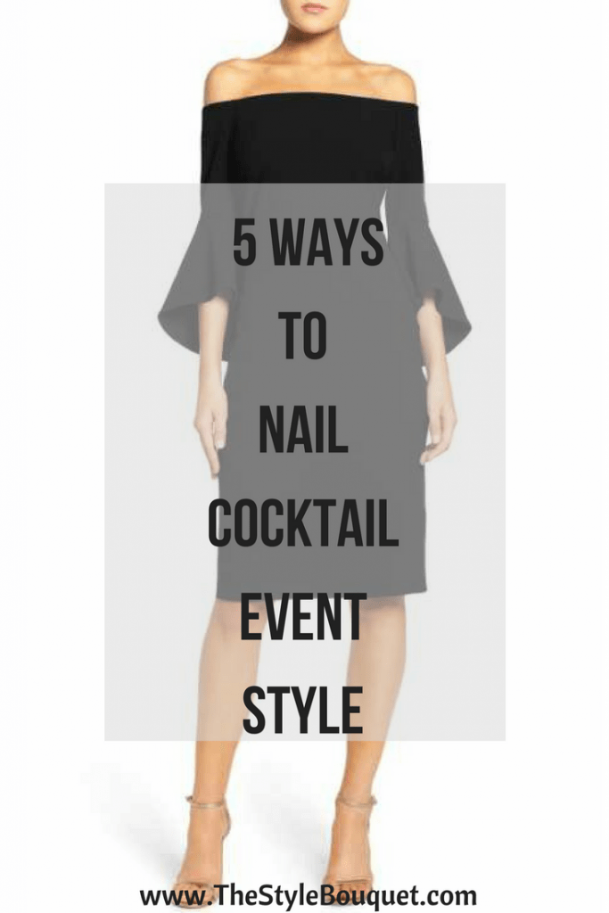 Cocktail Event Style - Pinterest