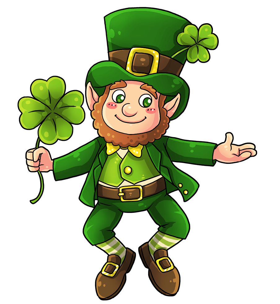 Refreshing image inside printable leprechauns