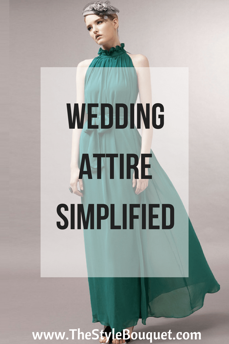 Wedding Attire Simplified