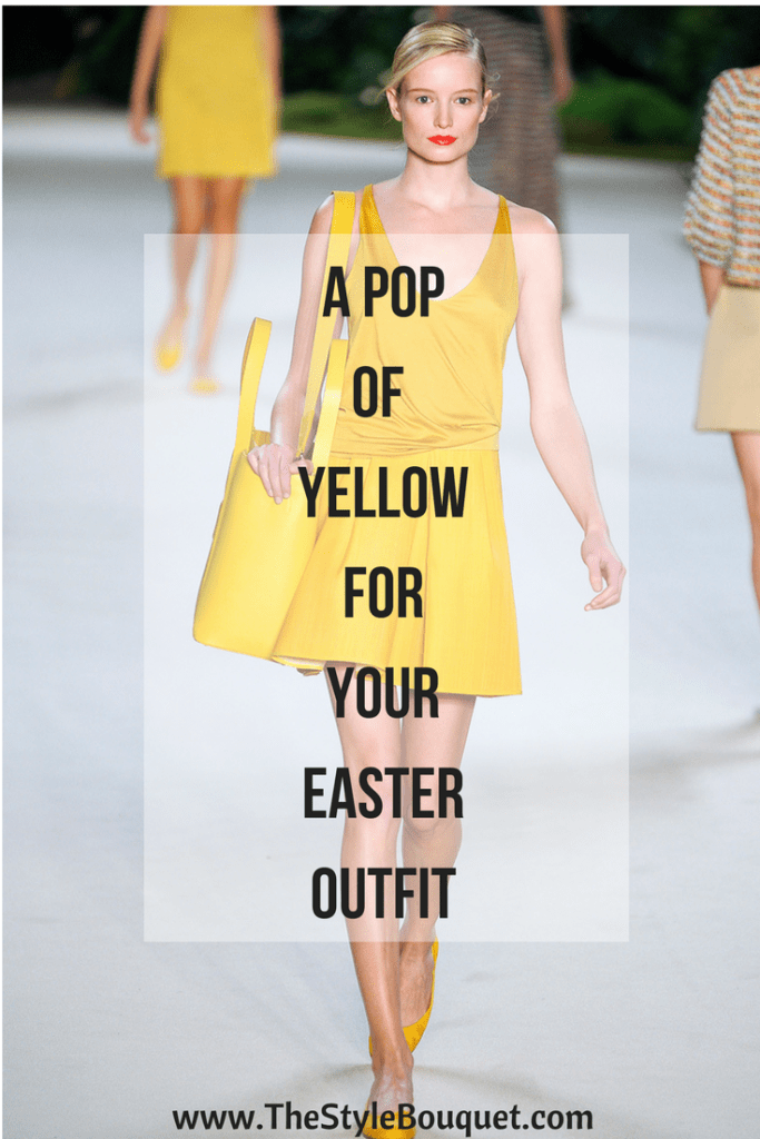 Yellow for Easter