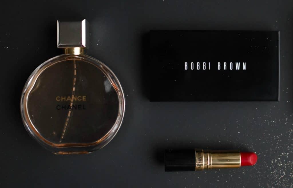 A dab of perfume