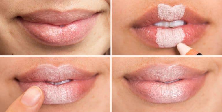 concealer on lips