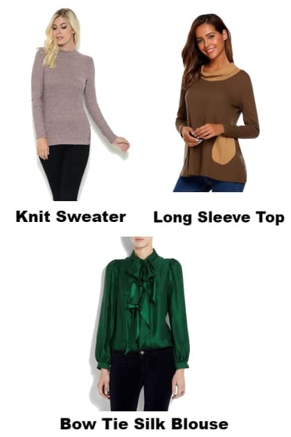 Sweaters, Tops, Blouses