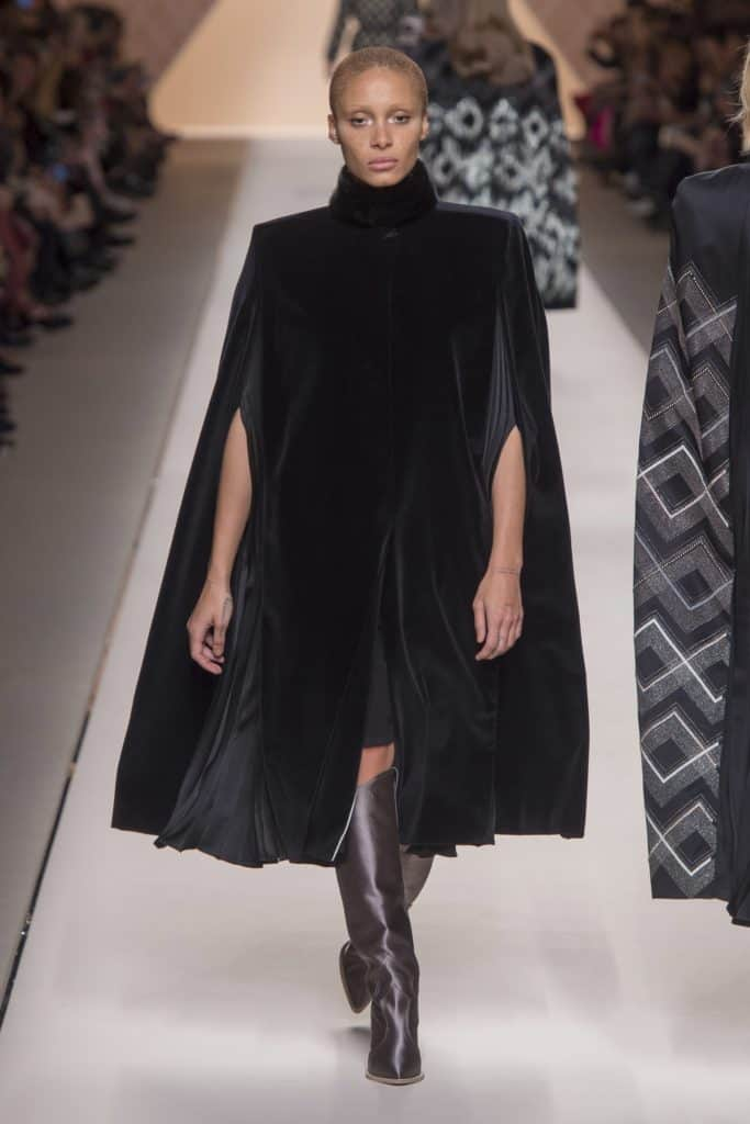 Eighties Shoulders - Fendi