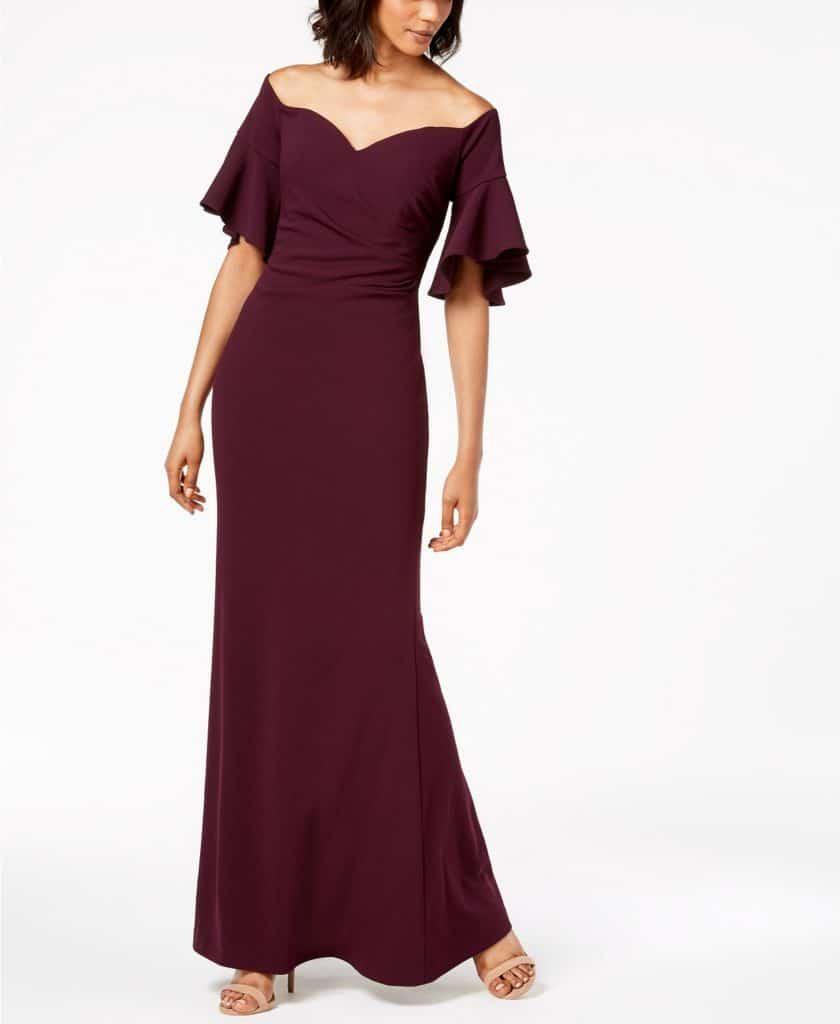 Floor Length Evening Gown