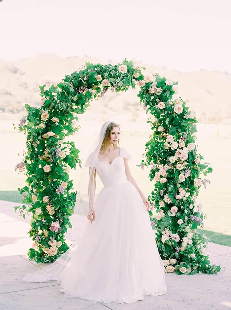 Bride Under Arch