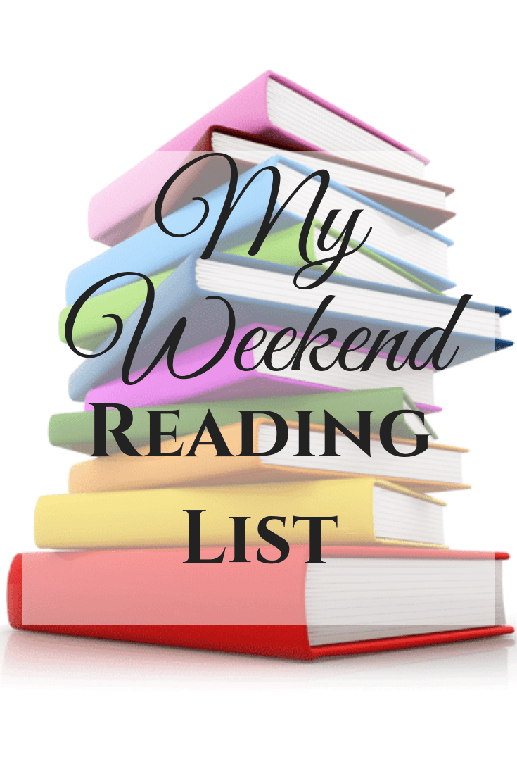 My Weekend Reading List