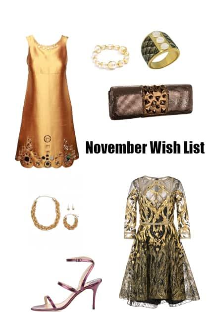 November Wish List 2018