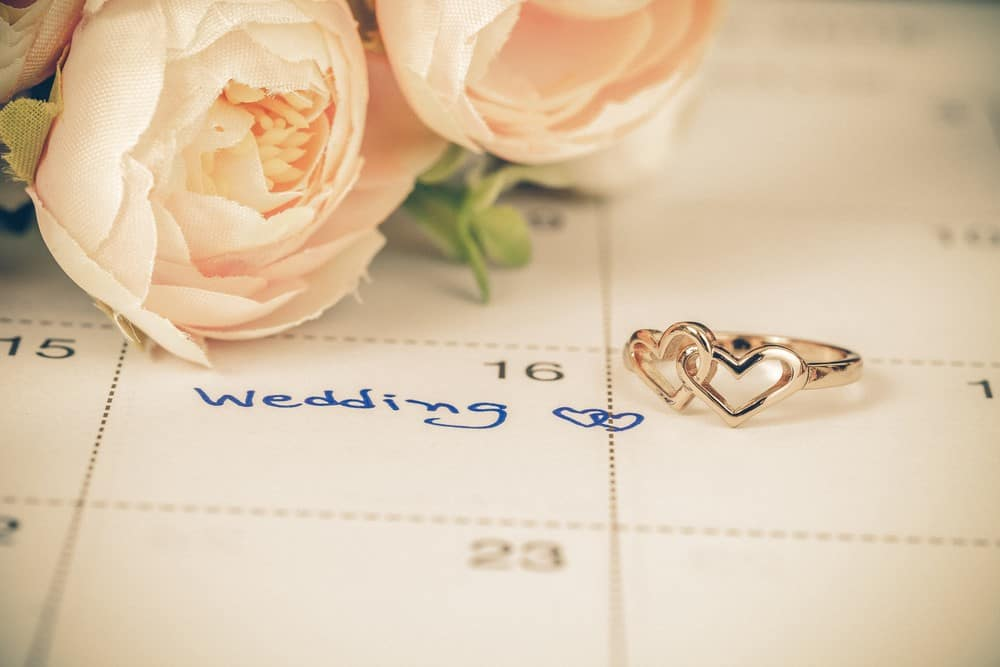 Plan Out Your Wedding Date