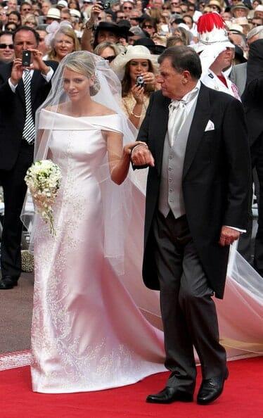 Princess Charlene of Monoco -2011-Armani Privé