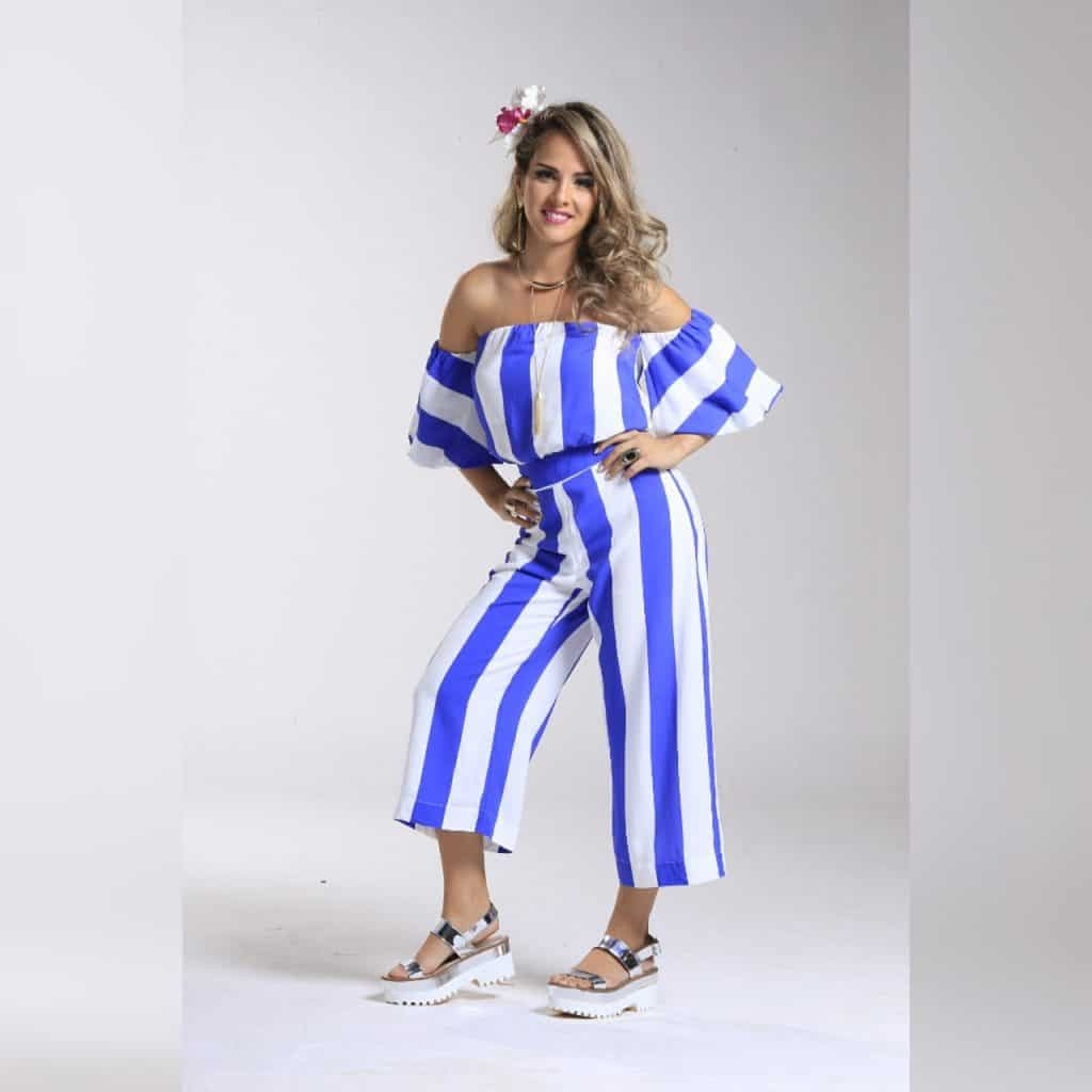 Jumpsuit with Sneakers