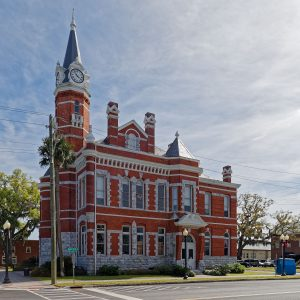 The Historic Town Hall in Brunswick, GA