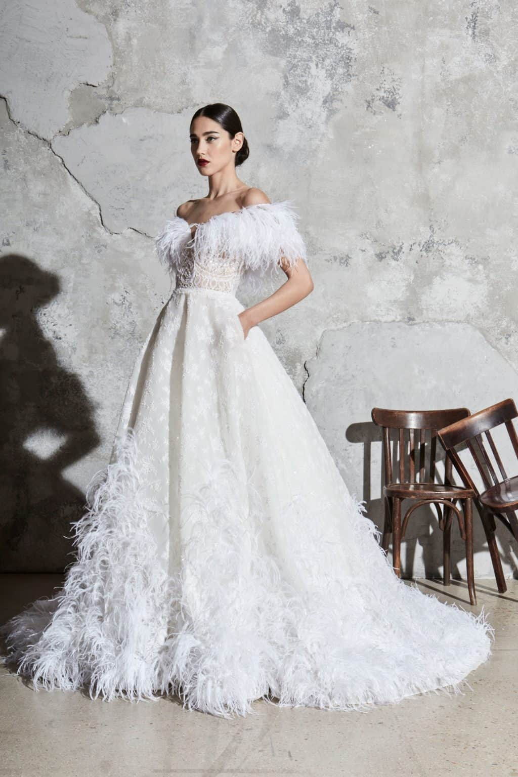5e98279623dd 10 Wedding Dress Trends from Spring 2020 Collections – The Style Bouquet