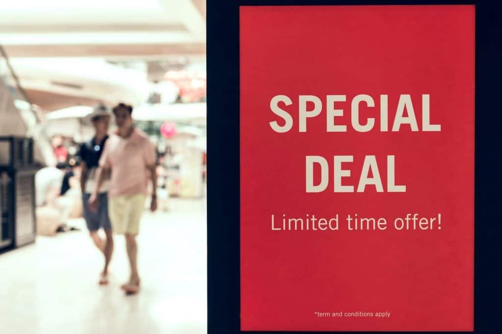 Look for Deals