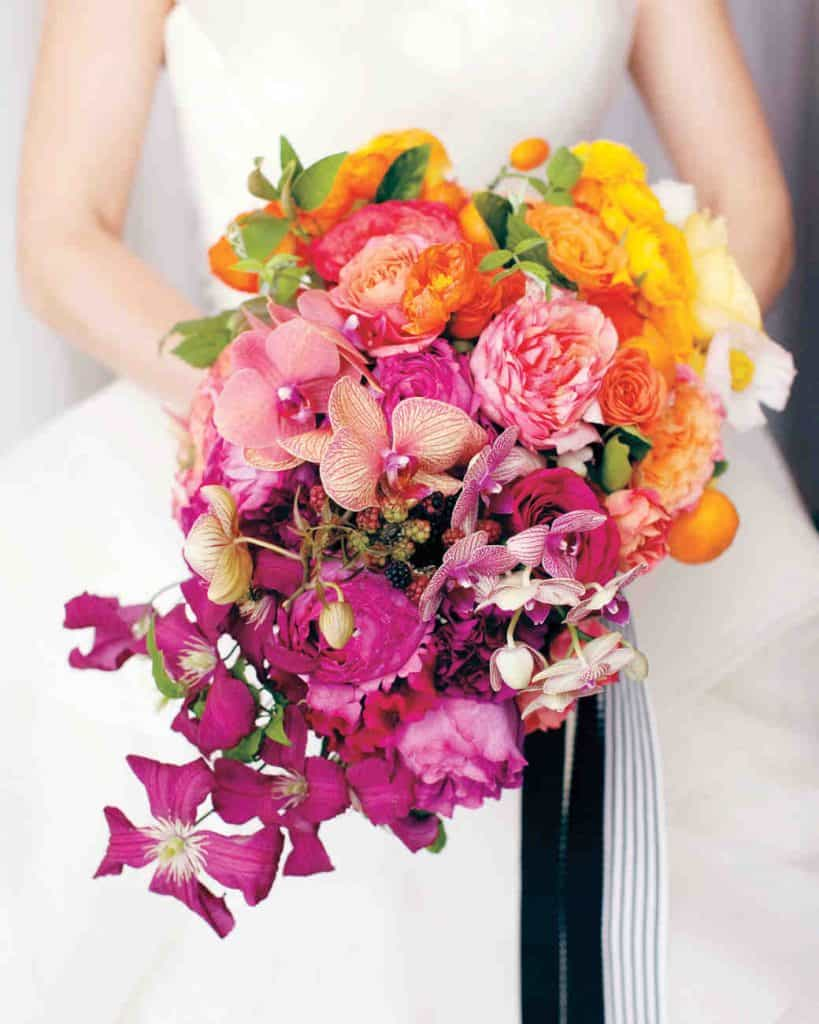 Ombre Wedding Bouquet