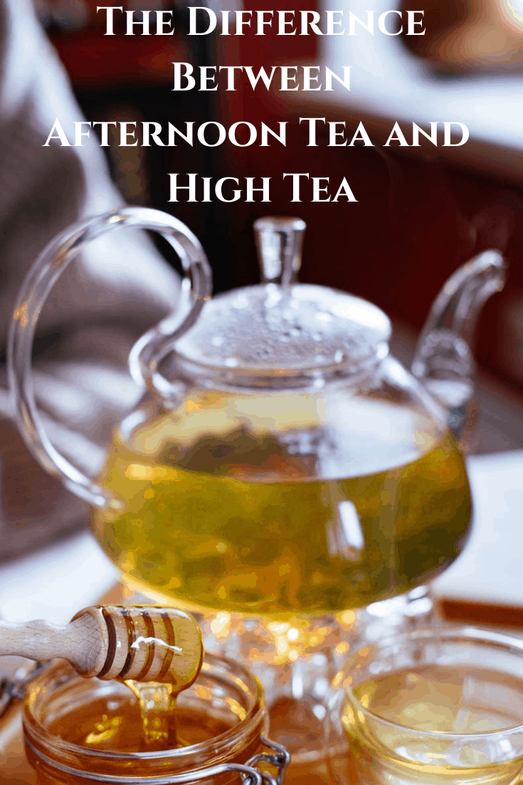 Afternoon Tea v. High Tea