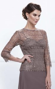 Tan-Light Brown Dress