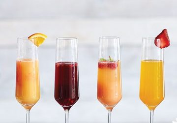 Various Brunch Cocktails