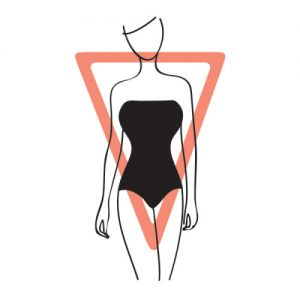 Inverted Triange Body Shape