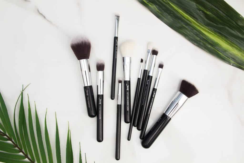 Set of Makeup Brushes