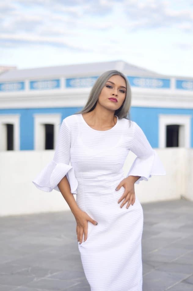 Bridal Shower White Dress